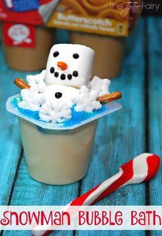 Make a Snowman Bubbl