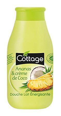 Cottage Douche Lait Energisante Ananas et Crème de Coco Première déception Cottage... il y a un début à tout :) je cherche toujours l'odeur d'ananas... léger parfum de coco... c'est tout...