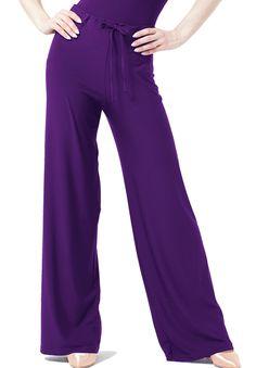Chrisanne Utopia Drawstring Dance Practice Trousers| Dancesport Fashion @ DanceShopper.com