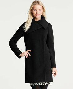 Ann Taylor - AT Outerwear - Wool Blend Marella Coat