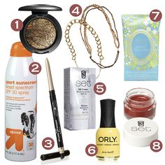 Beauty essentials you need for Lollapalooza #divinecaroline #festivalbeauty