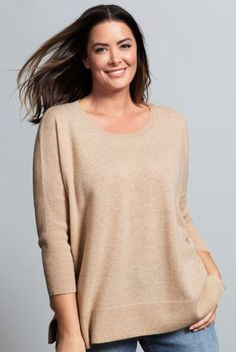 A quality item, this jumper can be dressed up or down for different occasions - try pairing it with a pencil skirt, heels and statement necklace for dressier occasions or pair it down with jeans and boots for simple weekend wear. Sara Lambswool Crew Neck Style Number: 151690