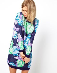 Love this watercolor floral print