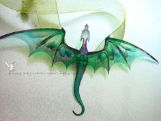 Hey, I found this really awesome Etsy listing at https://www.etsy.com/listing/230225673/dragon-necklace-handmade-emerald-green
