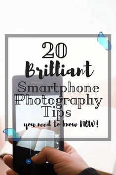 Having problems taking amazing photos with your phone? Here are 20 brilliant smartphone photography tips to help you take photos like the pros! Photography Tips Iphone, Photography Gear, Photography Tricks, Photography Business, White Photography, Instagram Photography, Landscape Photography, Photography Hashtags, Smartphone