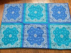 DIY Bandana Blankets DIY Crafts