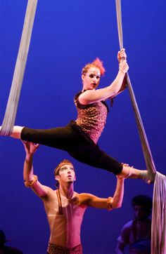 Aerial Dance- UNH Dance Company