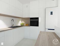 Mieszkanie na Marysinie - Kuchnia, styl nowoczesny - zdjęcie od Progetti Architektura