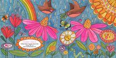 susan black design: new promo card Susan Black, Black Art, Zentangle, Doodles, Greeting Cards, My Love, Illustration, Painting, Image