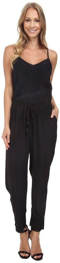 Lucky Brand Embroidered Jumpsuit