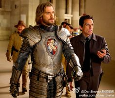 Dan Stevens as Lancelot in Night at the Museum 3 WHAT.