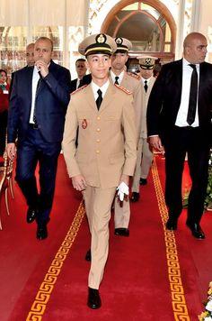 Prince héritier Moulay Hassan du Maroc, 14 mai 2017, Présidence d'un déjeuner offert par le roi Mohammed VI du Maroc, Cercle Mess-Officiers de Rabat