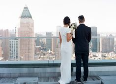 Photography: Esther Sun Photography - esthersunphoto.com  Read More: http://www.stylemepretty.com/2014/01/03/elegant-nyc-elopement-at-per-se/