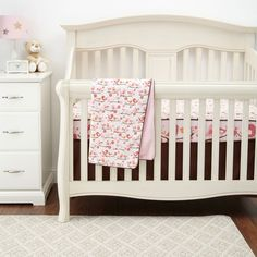 Skip Hop Springtime Birdie Complete Sheet 4 Piece Bumper Free Bedding... ($120) ❤ liked on Polyvore featuring home, children's room, children's bedding, baby bedding, baby, baby stuff and multi