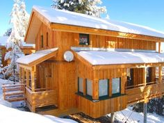 ***** Mountain Lodge Chalet Turrach Lyxig S. Jacuzzi, Skiing, Shed, Wellness, Outdoor Structures, Cabin, House Styles, Outdoor Decor, Traveling Europe