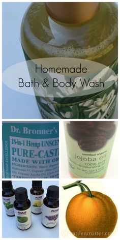 If you enjoy making natural beauty products...better yet making beautiful gifts for your friends check out this article on how to make your own body wash. Super easy to do. www.gardenmatter.com