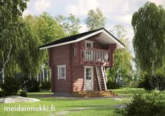 Home Fashion, Finland, Outdoor Living, Rustic Cabins, Cottage, House Styles, Summer, December, Home Decor