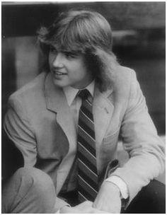 Steve Yzerman. Holy hair!