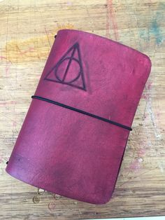 Leather Traveler's Notebook, Artisan Handcrafted, Leather Journal, Fauxdori, Passport size