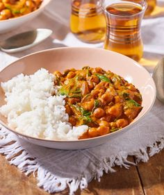 Spenótos-csicseriborsós tikka masala recept | Street Kitchen Bab, Fitt, Green Kitchen, Superfood, Curry, Food Porn, Brunch, Vegetarian, Cooking