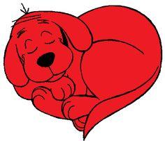 Clifford the Big Red Dog Clip Art Images - Cartoon Clip Art