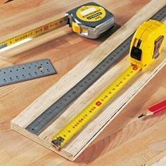 postpone the measurements in carpentry - Décoration et Bricolage Dremel, Woodworking Tips, Butcher Block Cutting Board, Power Strip, Carpentry, Home Appliances, Guide, Articles, Construction