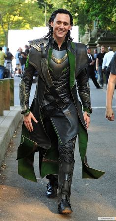 Tom Hiddleston Loki  <3