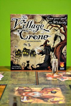 The Village Crone – A Witchin' Board Game Review. The perfect which themed game for Halloween! Nerf Games, Bus Games, Kids Online, Online Games, Domestic Geek, Youth Games, Photo Games, Halloween Games, Game App