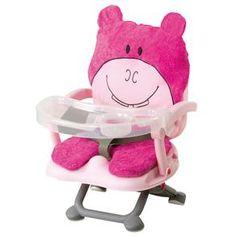 Cadeira para Refeição Dican Hipopótamo 6849 - Rosa 1712672