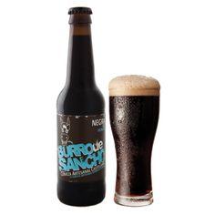 """Cerveza """"Burro de Sancho"""" (España). - """"Burro de Sancho"""" beer (Spain)"""