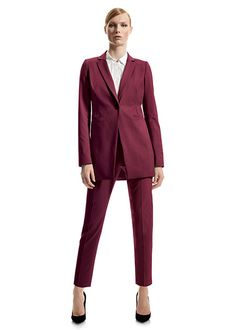 Italian Stretch Wool Dannette Jacket and Stanton Pant