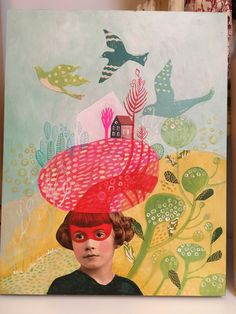 New work for sale soon in my online shop!  Julie liger-belair