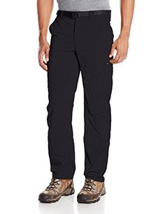 Columbia Men's Silver Ridge Cargo Pant, Black, 34 x 32. For product & price info go to:  https://all4hiking.com/products/columbia-mens-silver-ridge-cargo-pant-black-34-x-32/