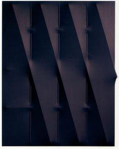 Agostino Bonalumi Blu Acrylic on canvas cm Texture Design, Art Design, 2d, Artwork, Contemporary Art, Paintings, Artists, Sculpture, Fine Art