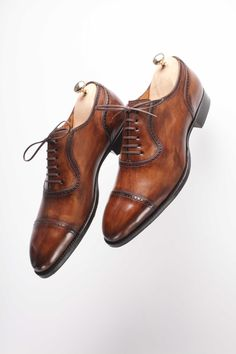 Handmade Hommes Marron /& Bleu Patine Shaded Tassel /& Frange Robe Hommes Chaussures en cuir