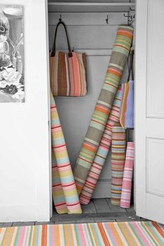 Striped Rugs via Dash & Albert (USA)