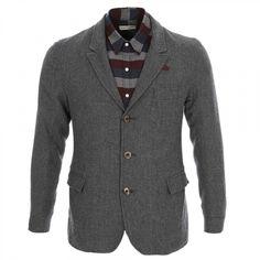 Oliver Spencer Portland Blazer Jacket In Grey At Aphrodite Menswear Online UK