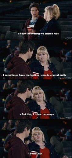 .......i love fat amy she is the reason this movie is so funny. Well her and Benji