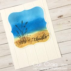 Cat Luvs Paper: A little something beachy Broken China, Wood Planks, Distress Ink, Old School, Stampin Up, Thankful, Cat, Paper, Wooden Boards