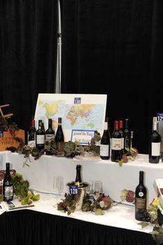 ways to display multiple bottles of wine