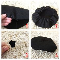 DIY beret -- for baby or dog?