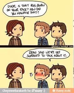 I love your clueness Cas :D