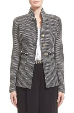 St. John Collection 'Manto' Knit Jacket available at #Nordstrom