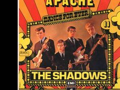 Pam - this is the song that put The Shadows on the map in the US  in 1960 - 'Apache' - a surf instrumental - but Cliff Richards didn't play on this one - The Shadows started to back him after this came out on a more routine basis,  but they still did a lot of surf music. This number is considered a real classic among surf instrumentals.