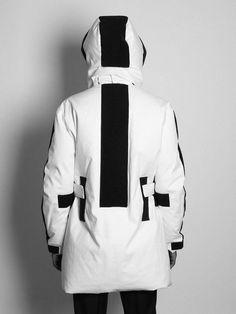 raf simons velcro jacket