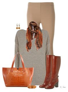 """""""Whiskey shoes & bag"""" by ksims-1 ❤ liked on Polyvore featuring Joseph, Mint Velvet, Kate Spade, Vince, LA Double 7, MM6 Maison Margiela and Luxiro"""