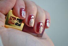 YSL No 33 + Gold Crackle