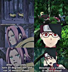 Like Mother like Daughter ❤️ Sakura and Sarada ❤️❤️❤️
