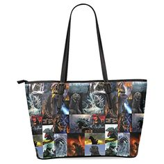 Ewa Dinosaur Women's Leather Tote Shoulder Bags Handbags * To view further, visit http://www.amazon.com/gp/product/B01D88LZFE/?tag=clothing8888-20&plm=120816095704