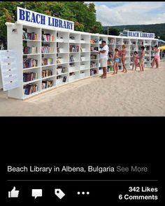 Library of the Future on the beach
